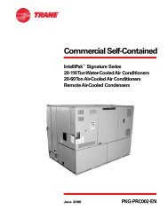 Commercial Self-Contained - Trane