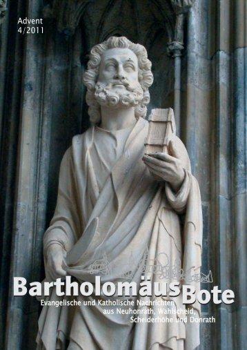 Advent 4/2011 - Evangelischen Kirchengemeinde Wahlscheid