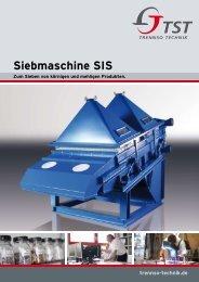 Siebmaschine SIS - TrennSo-Technik