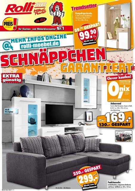 Rolli Sb Mobelmarkt In 65604 Elz Schnappchen Garantiert