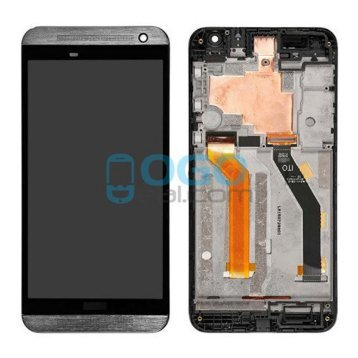 LCD & Digitizer Touch Screen Assembly With Frame Replacement for HTC One E9 - Gray