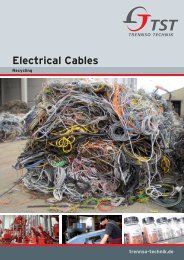 Electrical Cables Air cleaning system - TrennSo-Technik