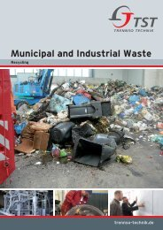 Municipal and Industrial Waste Air cleaning system - TrennSo-Technik