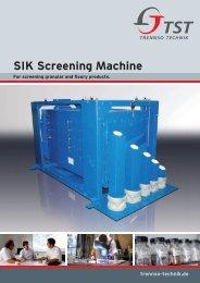 SIK Screening Machine - TrennSo-Technik