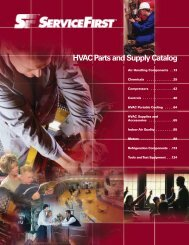 HVAC Parts and Supply Catalog - Trane