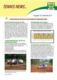 19-2011 tennis news - Trenz AG