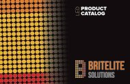 BRITLEITE SOLUTIONS LED CATALOG PRINT READY