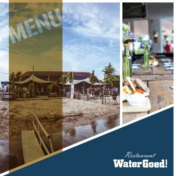 Watergoed Menu Summer 2017