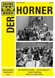 Der Horner 01-2008 für Internet - Trenz AG