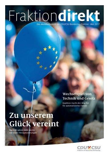 Fraktion direkt | Ausgabe Mai 2017