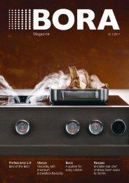BORA Magazin – Englisch