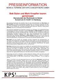 Bob Dylan& Band - Trenz AG