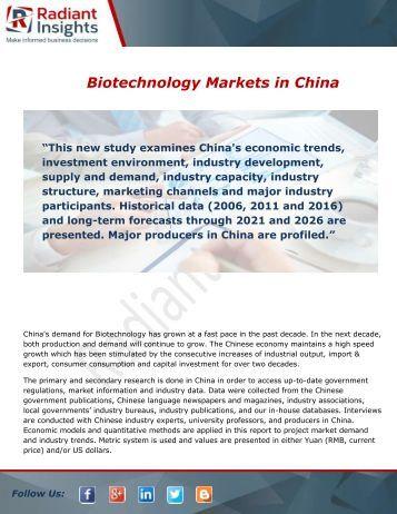 biotechnology equipment market in china seeing