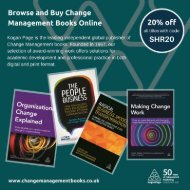 Browse and Buy Change Management Books Online