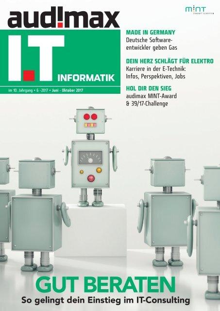 audimax IT 06/2017: Das Karrieremagazin für Informatiker