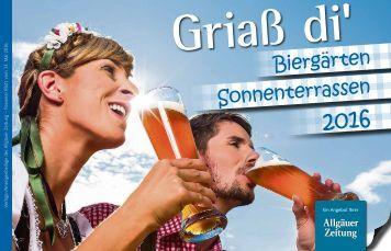 Biergarten Sonnenterrassen Füssen 2016