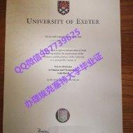 Q /Wechat 987739625University of Exeter diploma,fake Exon diploma transcript bachelor degree master degree,certificate
