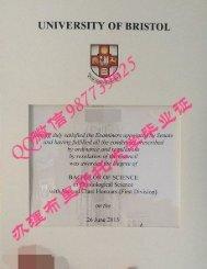 fake diploma Q /Wechat 987739625  University of Bristol transcript certificate bachelor degree master degree