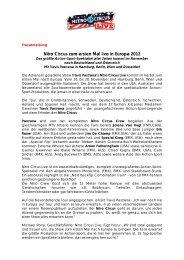Nitro Circus 2012_final.pdf - Marek Lieberberg Konzertagentur