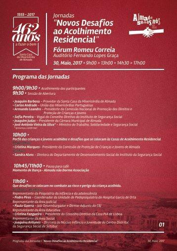 programa jornadas Maio2017