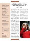 In dieser Ausgabe Mit Bernadette lernen, das Kreuzzeichen zu ... - Seite 2