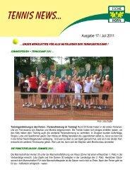 Tennis News 17 - Trenz AG