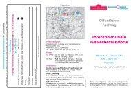 Öffentlicher Fachtag Interkommunale Gewerbestandorte - Trenz AG