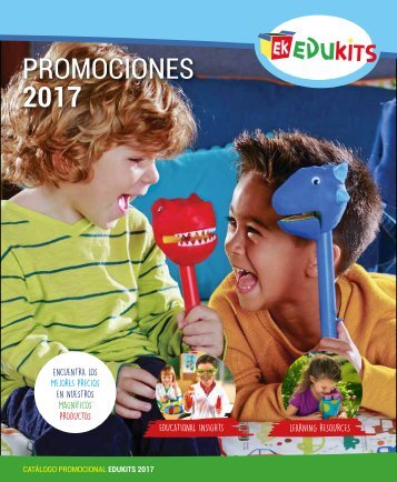 CATALOGO PROMOCIONAL 2017 EDUKITS