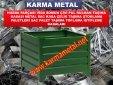 KARMA METAL-ozel tasarim istiflenebilir katlanabilir agir tip metal tasima kasasi kasalari imalati - Page 4
