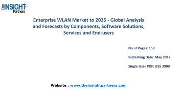 Worldwide Enterprise WLAN Industry Overview, Size, Share, Trends, Analysis and Forecast to 2025 |The Insight Partners