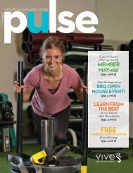 VIVE Health & Fitness   May Pulse - prospects