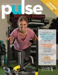 VIVE Health & Fitness   May Pulse