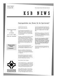 KSB News September 2003 - Trenz AG