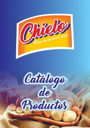 Catalago de Productos de Chielo