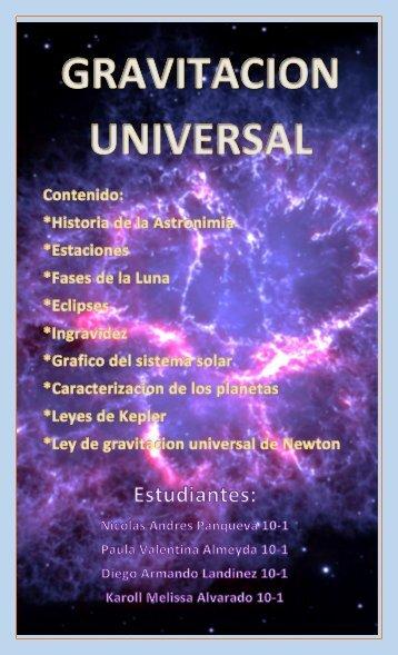 Gravitacion-Universal