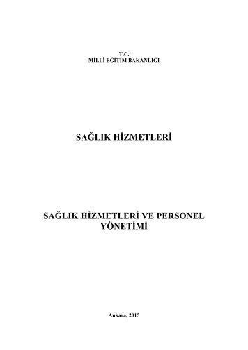 Sağlık Hizmetleri ve Personel Yönetimi