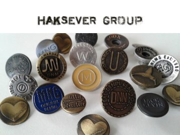Haksever Buttons and Metal Accessories