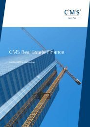 CMS Real Estate Finance