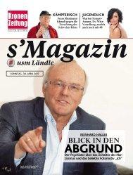 s'Magazin usm Ländle, 30. April 2017
