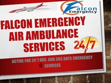 Immediate Air Ambulance Services in Aurangabad and Baramati