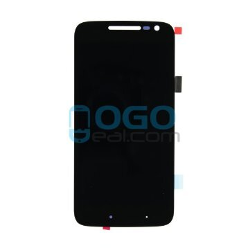 LCD & Digitizer Touch Screen Assembly Replacement for Motorola Moto G4 Play - Black