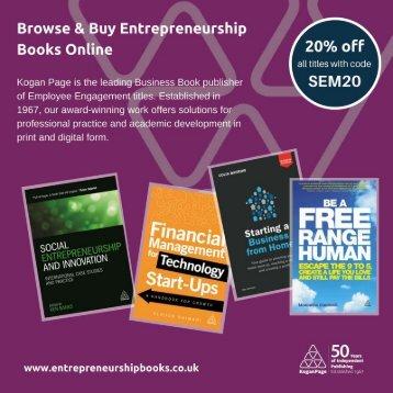 Browse & Buy Entrepreneurship Books Online