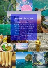 Amazing Thailand (Bangkok, Pattaya, Krabi, Phuket, Koh-Samui, Chiang Mai) Apr-Sep 2017