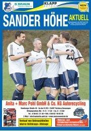SanderHöhe Aktuell Nr.6 2016/17