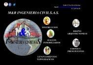 PORTAFOLIO DE SERVICIOS M&R INGENIERIA
