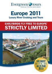 Europe 2011 - Discount Cruise Deals