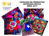 CATALOGO DE PRODUCTOS  ABRIL 2017