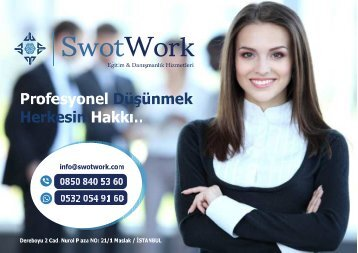 SwotWork Eğitim Kataloğu