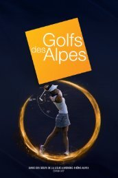Golfs des Alpes 2017