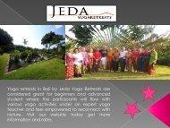 Find Yoga villas in Bali by Jeda Yoga Retreats